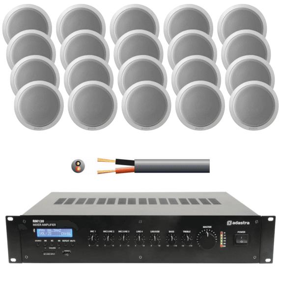 100 V line technique