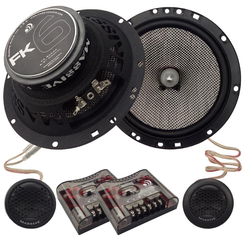 Flush-mount, car speakers